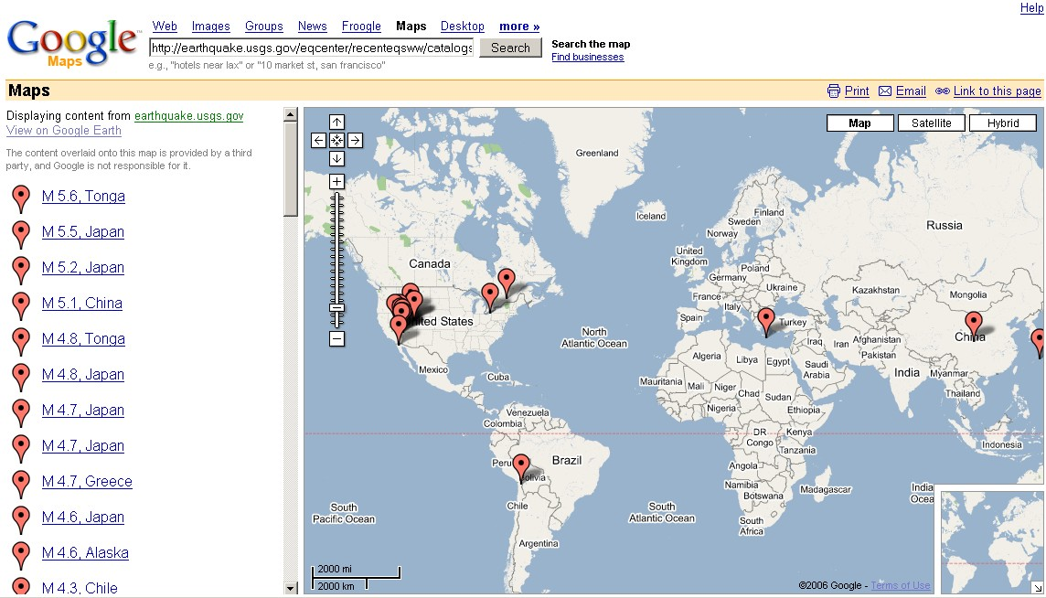 Mapping News By Mapperz - Road map of colombia 2006
