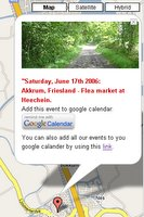 Google Map meet with Google Calendar
