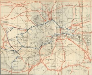 1889 Tube Map