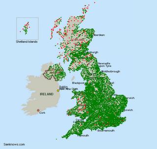 BT ADSL Max Map