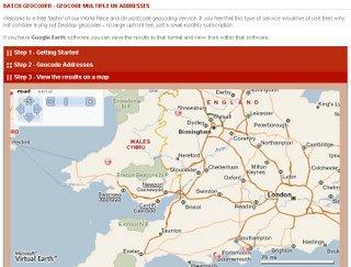 Free UK Geocoding?