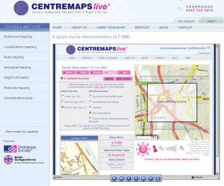 Centre Maps Live