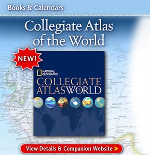 New National Geographic Collegiate Atlas