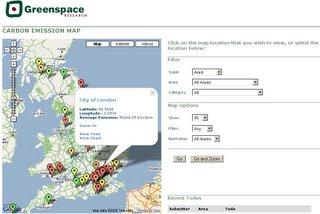 Emissions Map UK