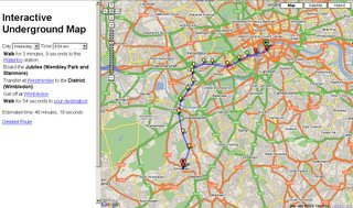 Interactive Tube Map London