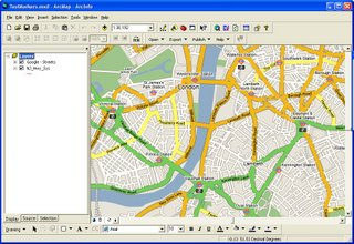 Google,Ask,Microsoft Map Tiles in ArcGIS