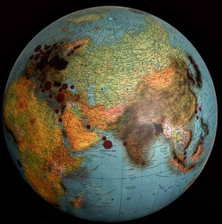 Pollution Globe