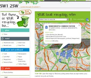 Recycle Maps UK