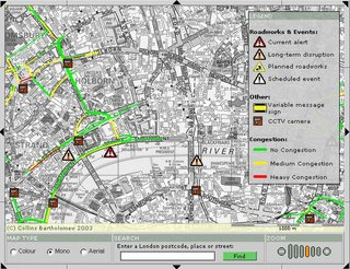 Traffic News Map