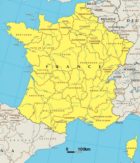 France in Local Language (French)