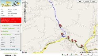 Live Tour De France Map