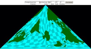 Map Projections in Java