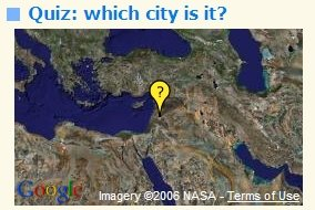 Map,Guess the City?