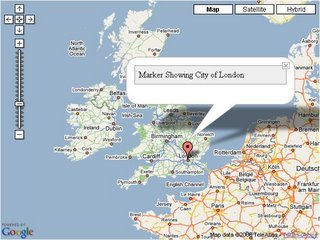 Simple Google Map Click to View