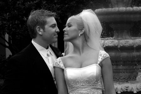 Debra Lafave on her wedding day