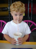 Blowing Bubbles in My Milkshake -- Thomas Morenzi -- June 2005