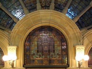 QVB mosaic window