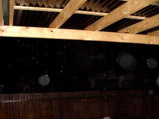 rainy pergola