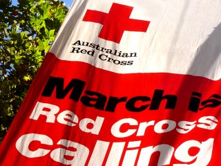 red cross march is calling