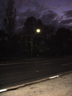 empty road at 5am