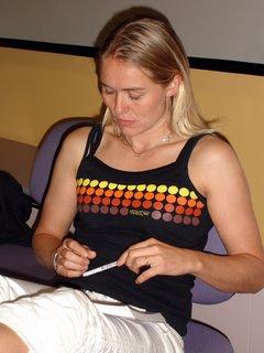 Marit studying