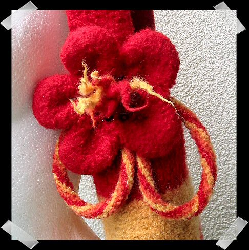 Free Knitting Pattern - Flower Pot, Felted from the Felted Free