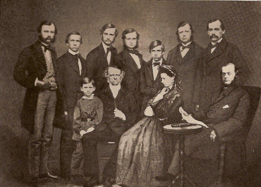Theodore roosevelt family
