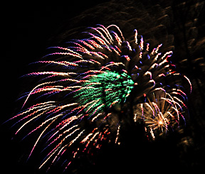 Fireworks display, Auckland 4 Nov 2006