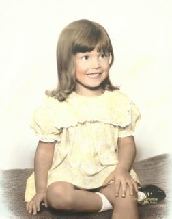 Trish Farrow Falcetti, 3 years old