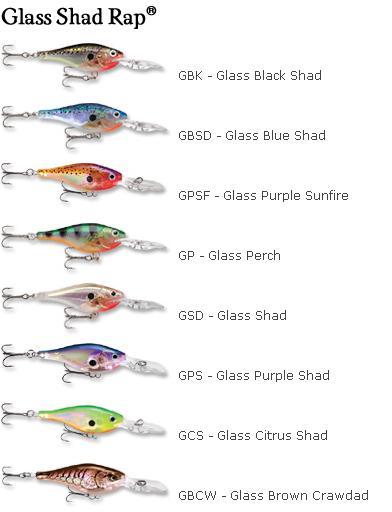 Rapala Glass Shad  Rap-4 GSR04 GBK Glass Black**