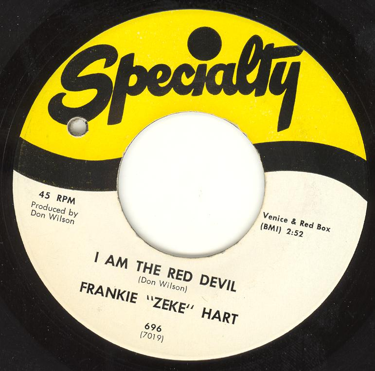 Frankie Zeke Hart I Am The Red Devil The Devils High