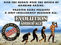 Wasach Brewery's Evolution Amber Ale