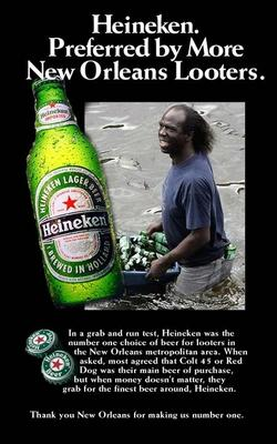 fake heineken Beer ad
