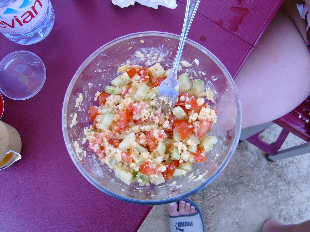 Marly 39 s blog quelques salades qui se ressemblent mais miam - Salade de tomates simple ...
