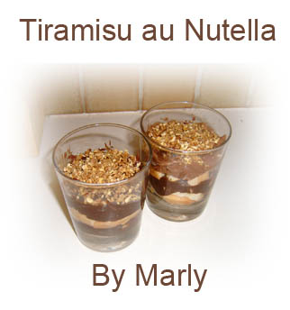 marly 39 s blog tiramisu au nutella. Black Bedroom Furniture Sets. Home Design Ideas