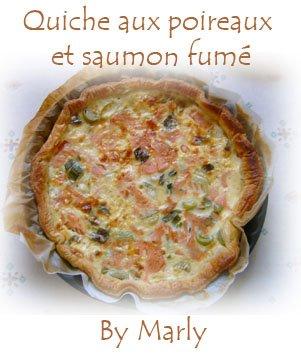 marly s quiche aux poireaux et saumon fum 233 sans alcool