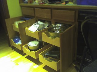 Under Counter Storage
