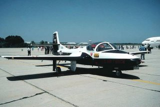 T-37 Tweet; the aircraft described in the post linked in the title.