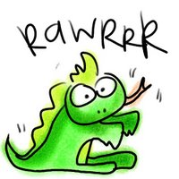 rawrrring mad reptile