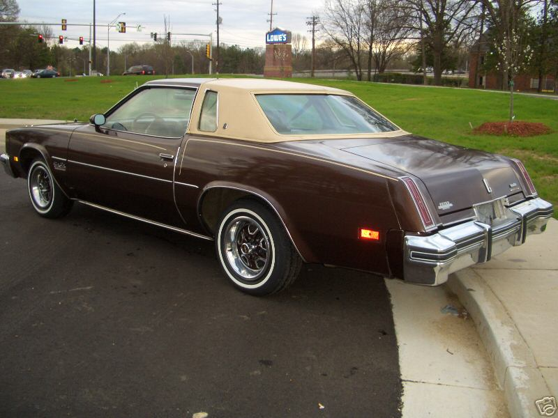 Coupe brougham 1977 oldsmobile cutlass