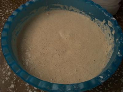 Nohut mayalı ekmek