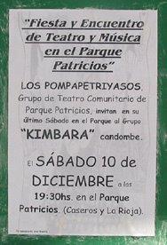 Cartel en Caseros al 2.700