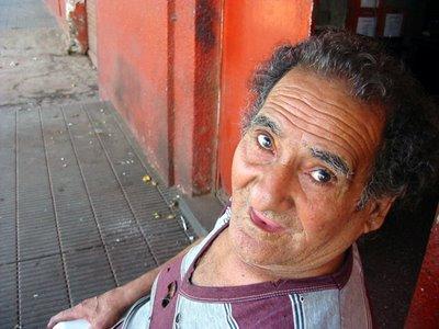 Quiroga, habitante de la cancha de Huracán