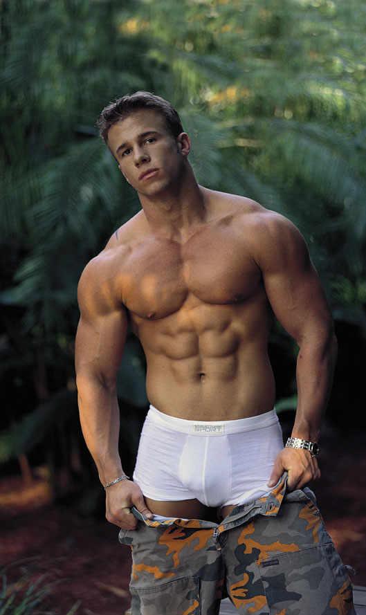 Hot muscular gay