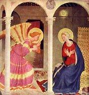 Anunciação, Fra Angelico