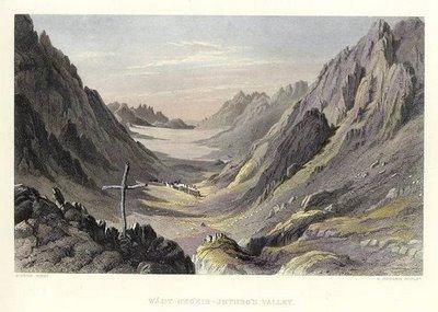 O Vale de Jetro, no Sinai