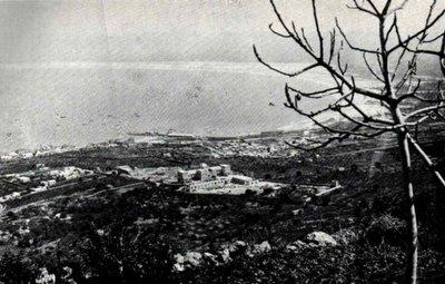 A Baia de Haifa, numa foto do início do século XX