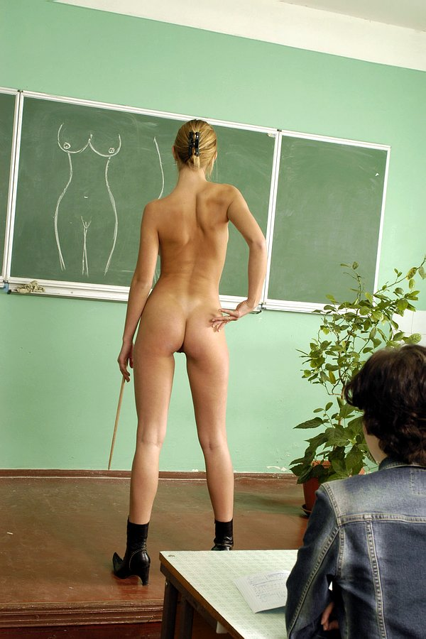 фото голая училка