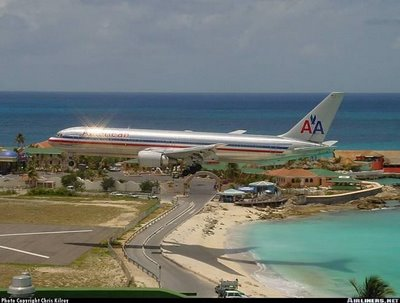 Princess Juliana Airport at St Maarten