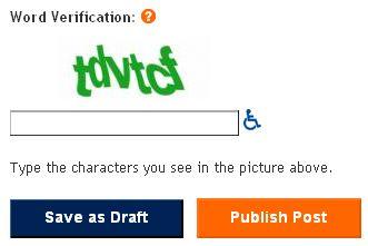 word verification